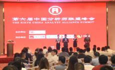 第六届中国分析师联盟峰会在京隆重召开
