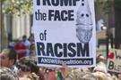 美国波士顿爆发大规模反种族主义示威游行