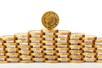 黄金多头试图在百日均线上方积蓄上涨动能